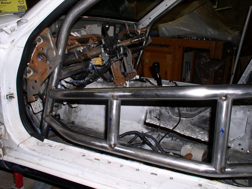Roll Cage Driver S Door Bars 171 Tom Hampton